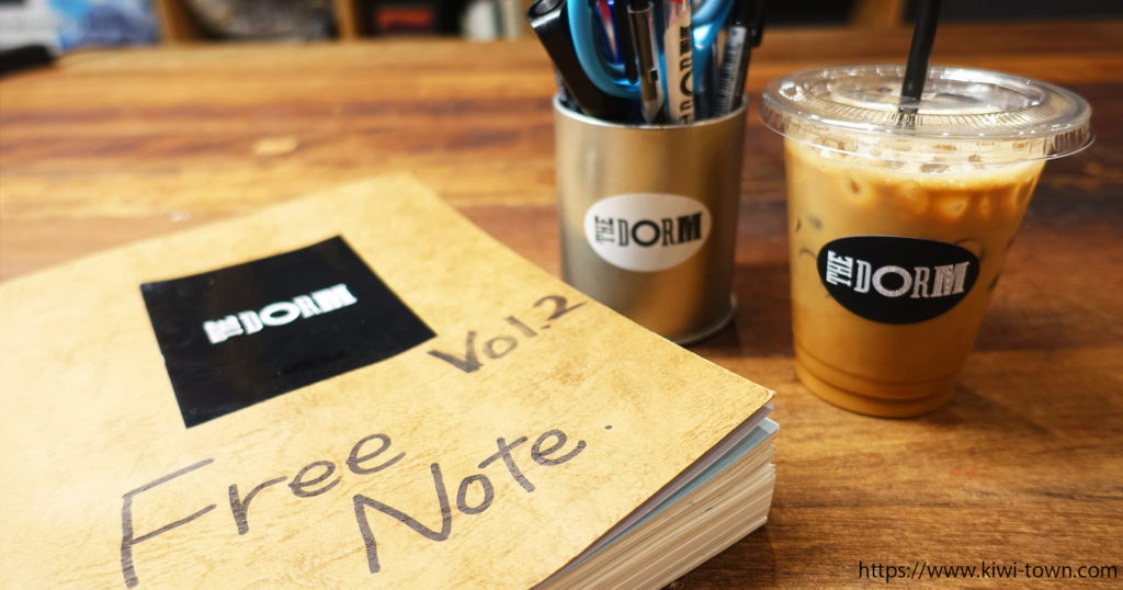 「THE DORM HOSTEL OSAKA」では本格派オリジナルコーヒーを!!