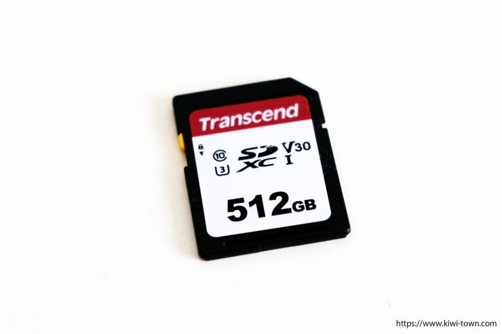 Transcend SDカード 512GB