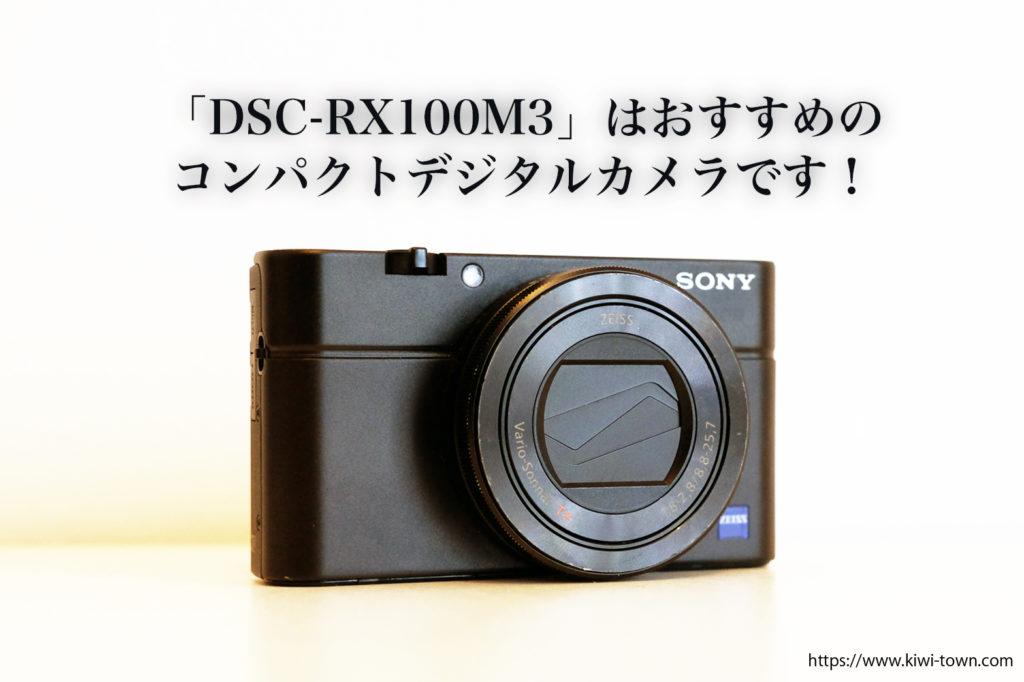 SONY「DSC-RX100M3」【最強のコンパクトデジタルカメラ】【まとめ】