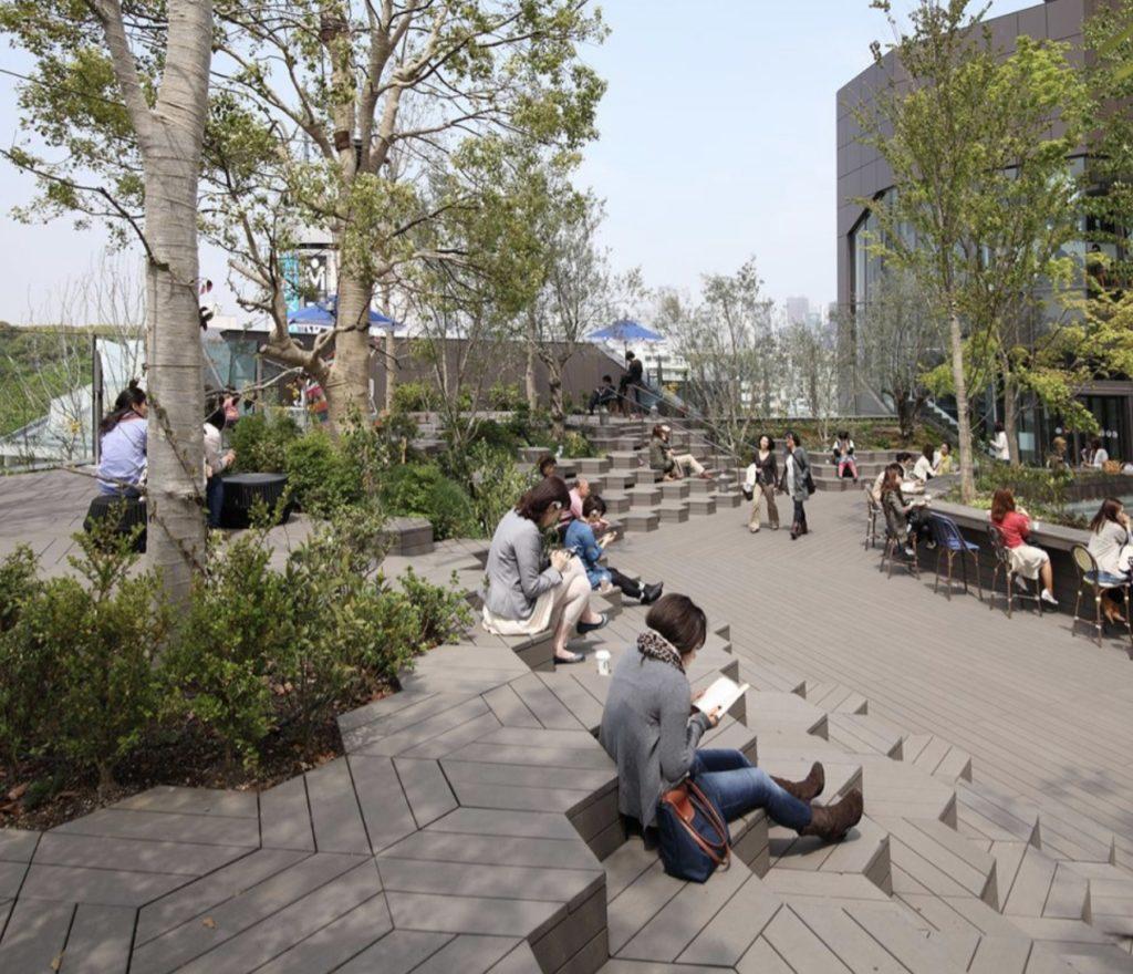 東京のおすすめ建築:東急プラザ原宿-NAP建築設計事務所(中村拓志)設計