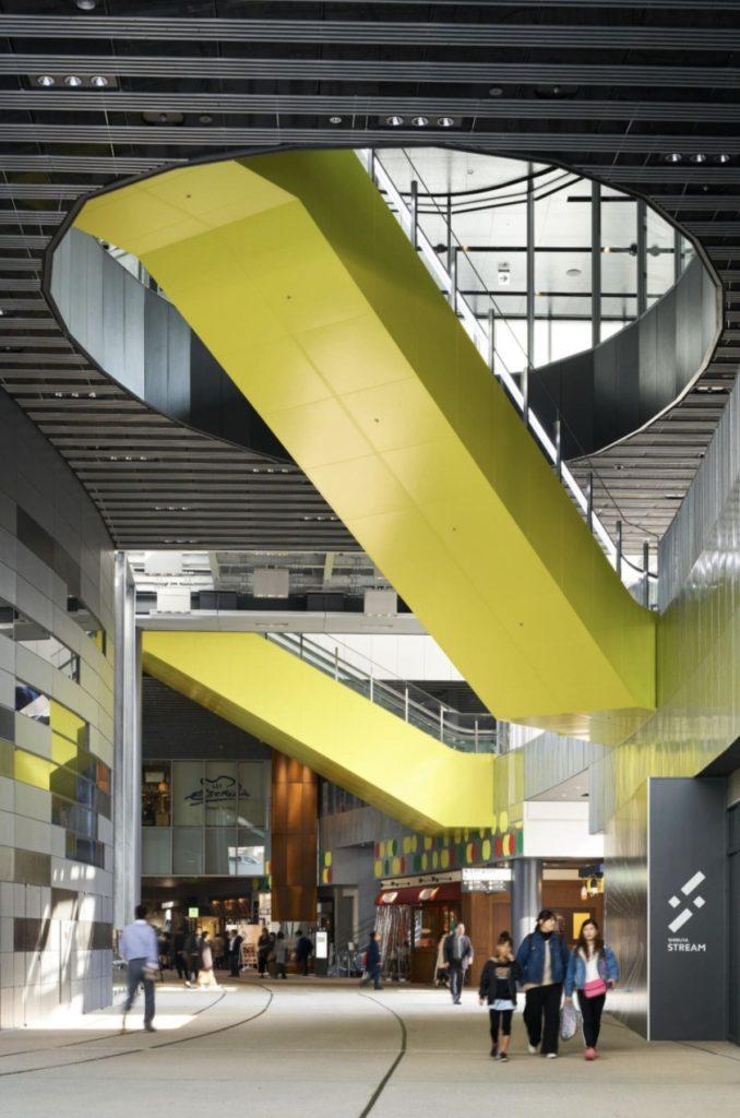 東京のおすすめ建築:渋谷ストリーム-CAt(小嶋一浩+赤松佳珠子) 設計
