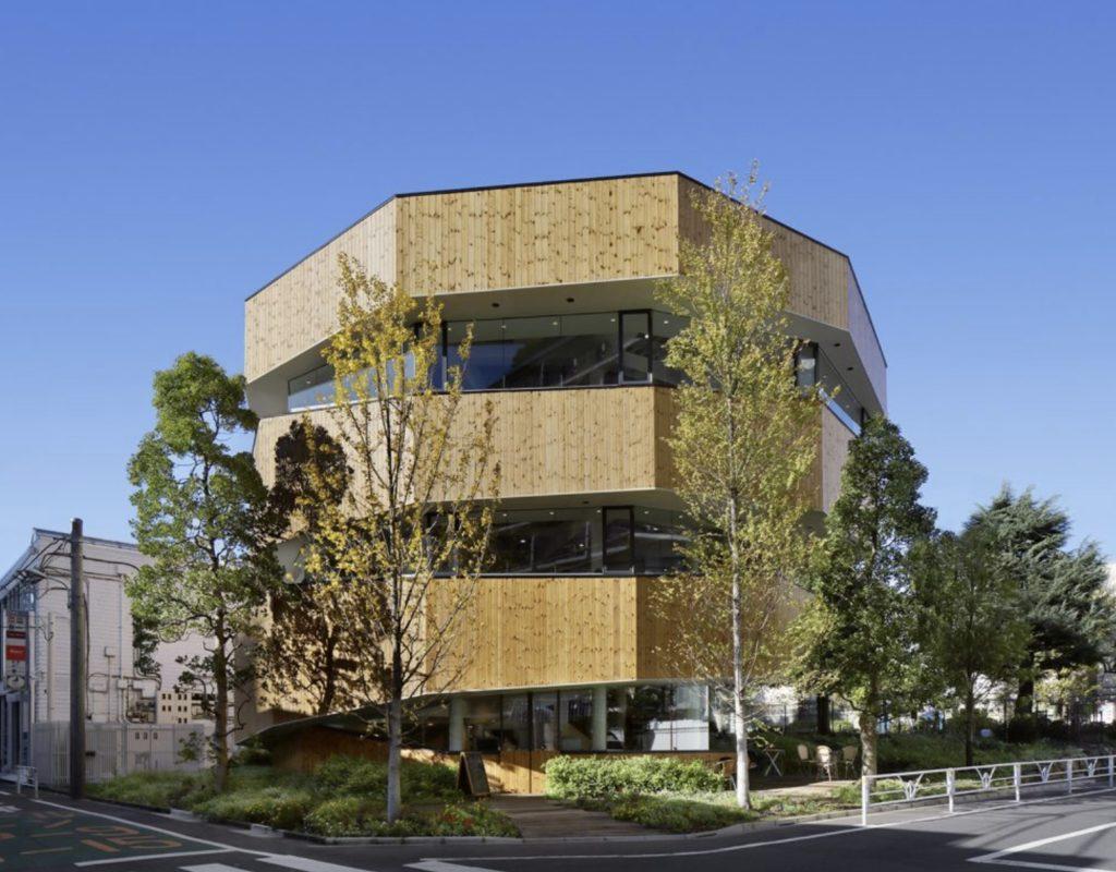 東京のおすすめ建築:Sarugaku Cyclone(モンキーカフェ)-NAP建築設計事務所(中村拓志)設計