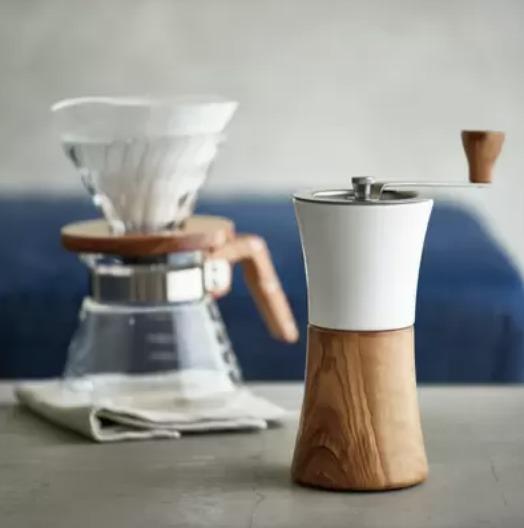 HARIOのコーヒーミル④【セラミックコーヒーミル・ウッド】の口コミ