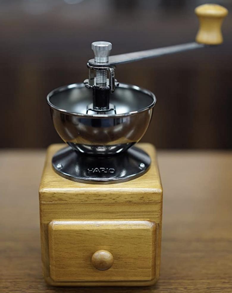 HARIOのオススメ手動コーヒーミル④【スモールコーヒーグラインダー】の口コミ