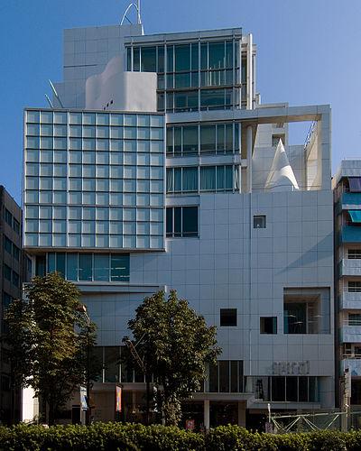 東京のおすすめ建築:SPIRAL-槇文彦設計