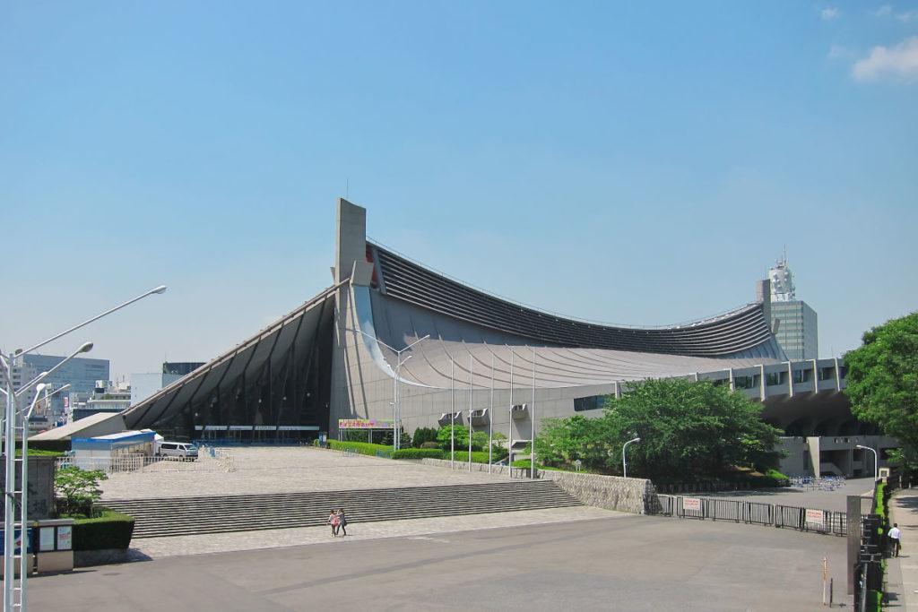 東京のおすすめ建築:国立代々木競技場-丹下健三設計