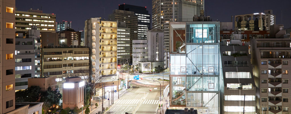 東京のおすすめ建築:SHIBAURA HOUSE-妹島和世設計