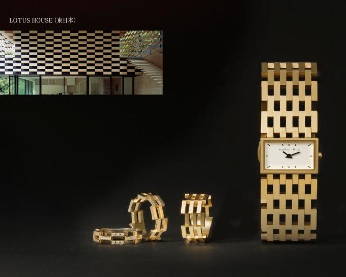 隈研吾デザインの時計【ロータス】はヴァンドームでも購入可能