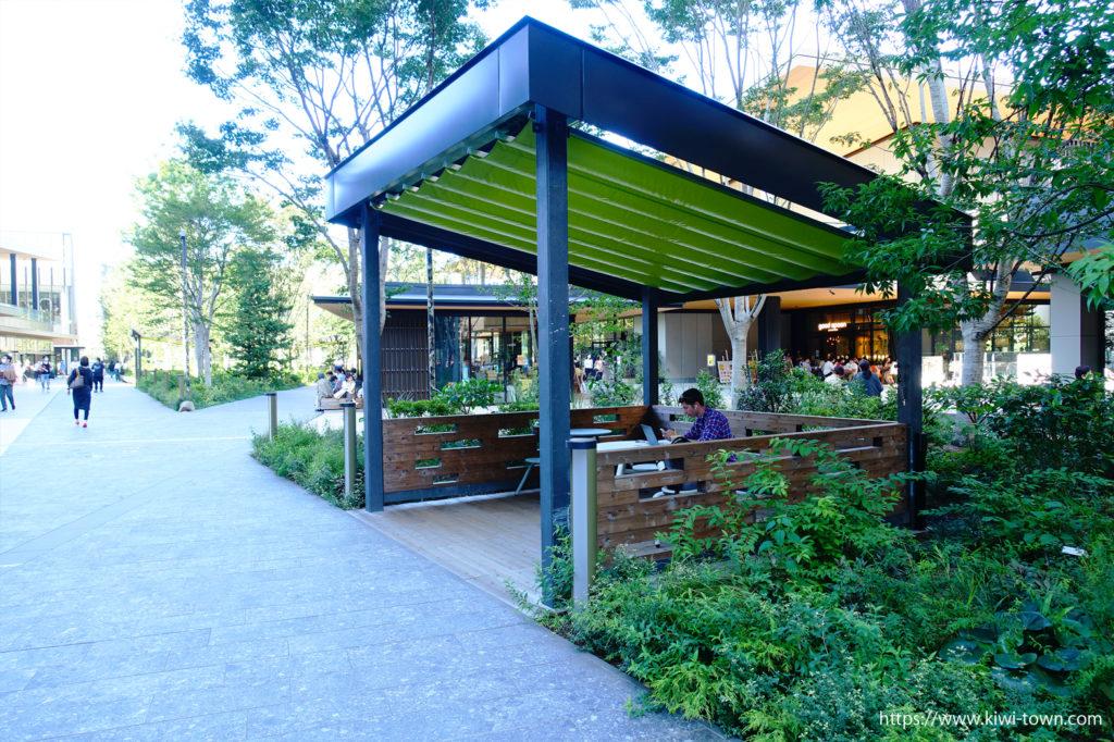 グリーンスプリングス は昭和記念公園と連続する緑がいっぱい